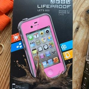 Lifeproof case iPhone 4/4S pink
